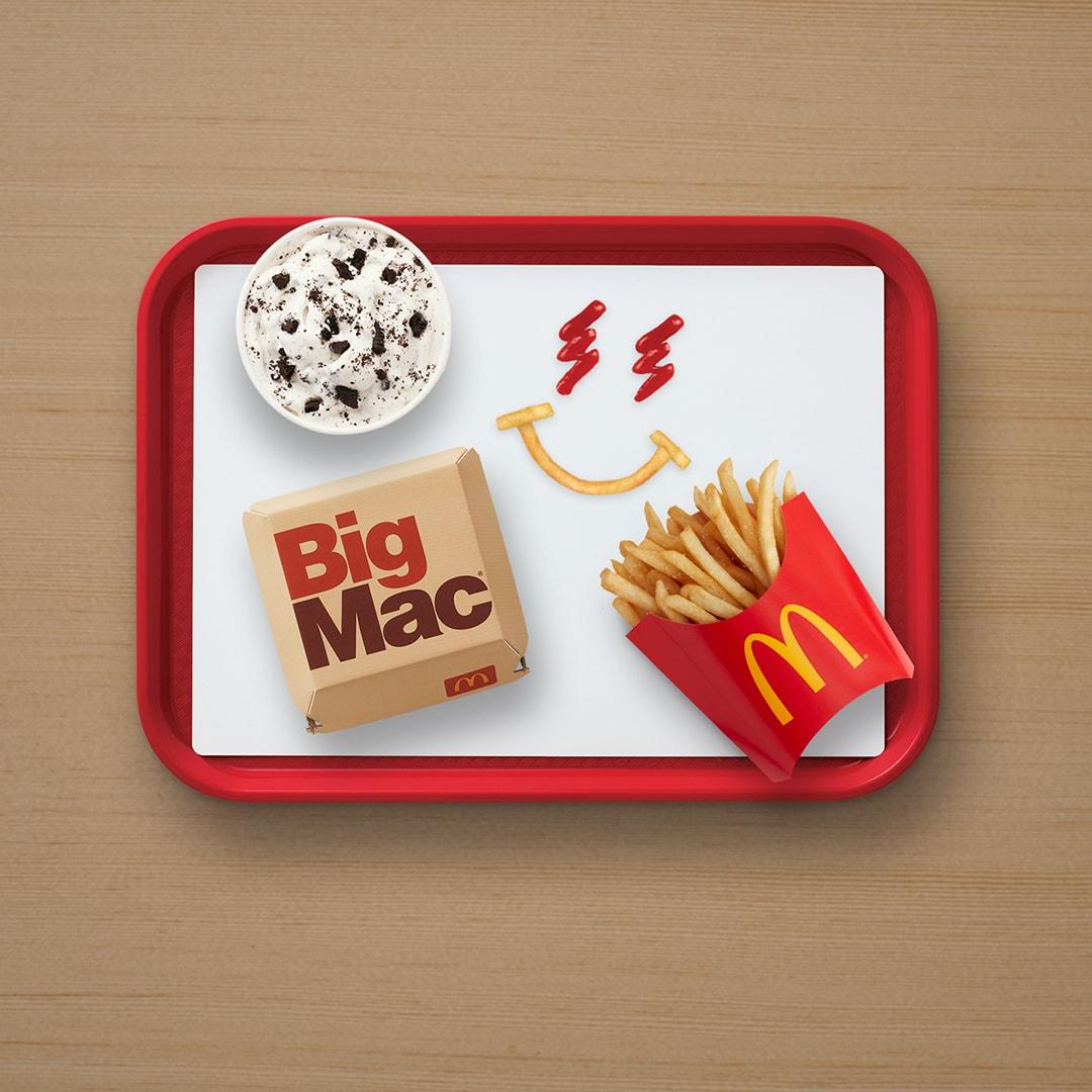 マクドナルドがJバルヴィンとのコラボセットを販売 j balvin mcdonalds artist meal collaboration big mac oreo mcflurry fries ketchup