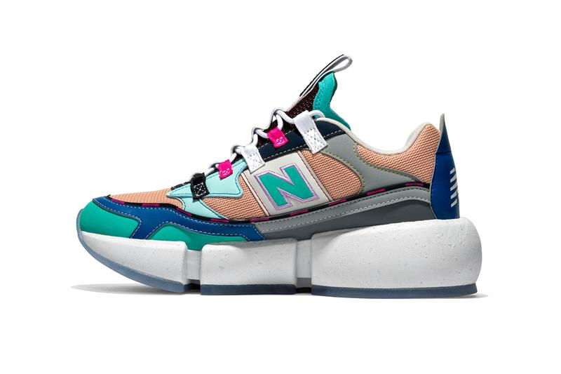 jaden smith new balance vision racer surplus recycled materials multicolor sustainable vegan official signature shoe release date info photos price store list buying guide
