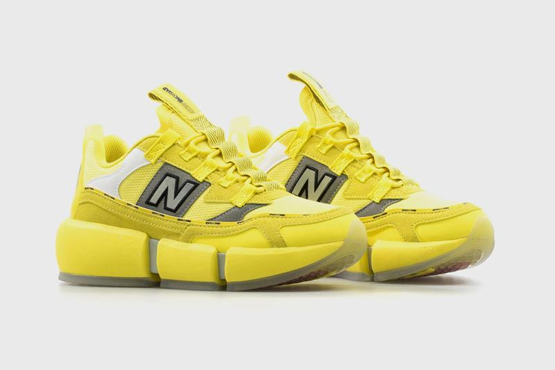 jaden smith new balance vision racer bright yellow black gray official release date info photos price store list buying guide