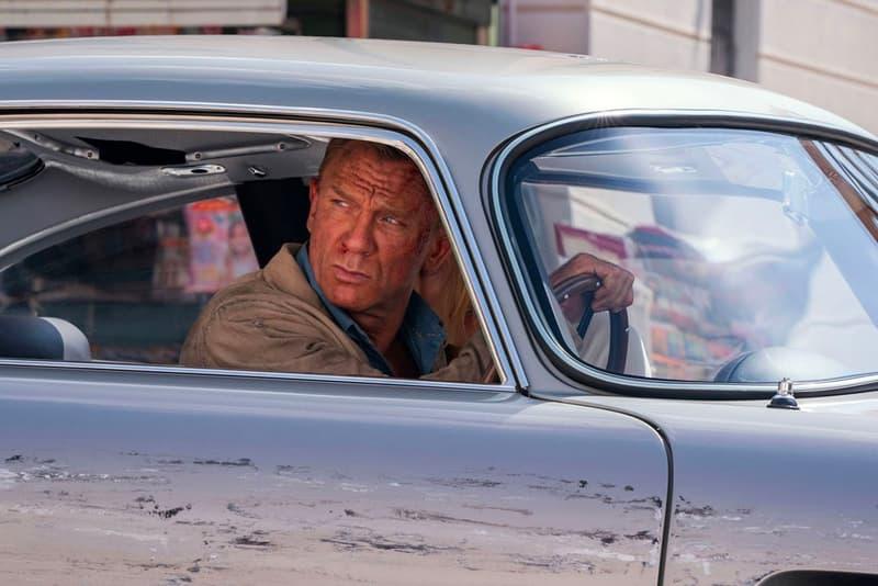 No Time to Die Stunt 8400 Gallons Coca Cola coke james bond 007 rami malek daniel craig production movies films shows franchise