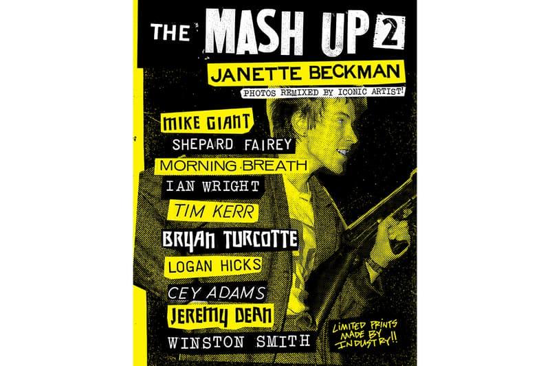 mash up punk photographs janette beckman