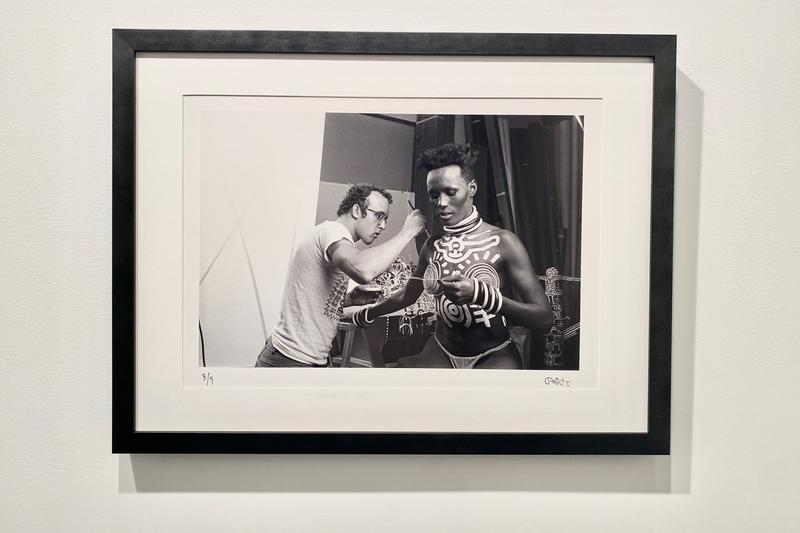 javier porto painting to the star padre gallery new york city keith haring grace jones photography