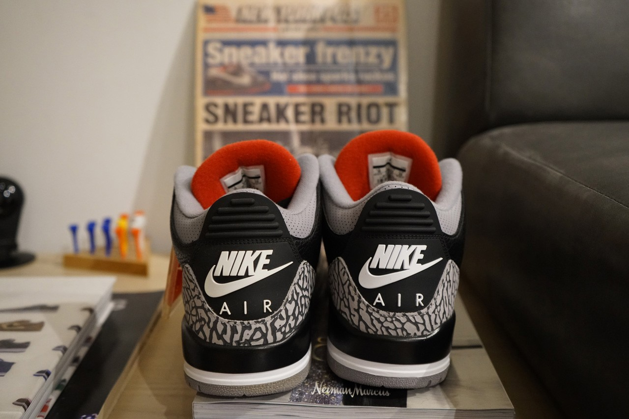 sole mates jeff staple air jordan brand 3 black cement interview conversation pigeon official release date info photos price store list buying guide
