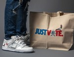 "Jeff Staple and The Shoe Surgeon Create Custom Nike SB Dunk Low ""Just Vote"""