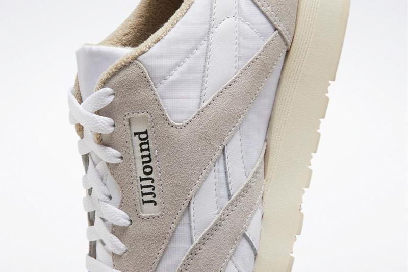 jjjjound reebok nylon classic second release collaboration sneaker white beige where to buy how much where to cop