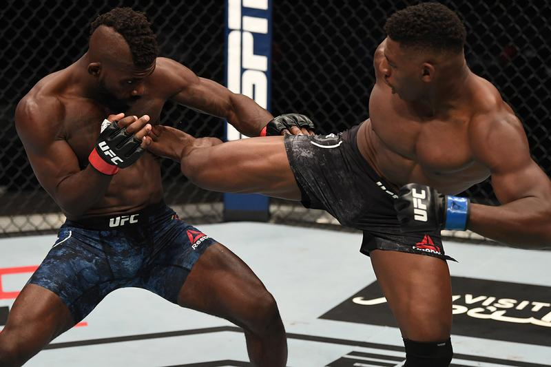 Joaquin Buckley Impa Kasanganay Knockout Video Watch UFC Fight Island 5 MMA