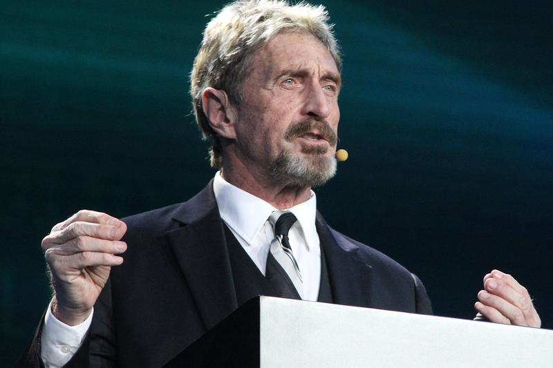 John McAfee Charged With Crypto Fraud and Tax Evasion Belize Antivirus Internet Bitcoin Ethereum cryptocurrency illegal computers virus ico SEC