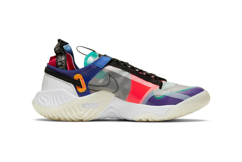 air jordan brand delta breathe multicolor clear white dark concord black purple red green blue CW0783 900 official release date info photos price store list buying guide