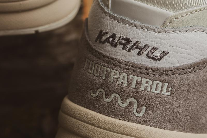 footpatrol Karhu sssu legacy 96 Finland collaboration three-way sneaker release information