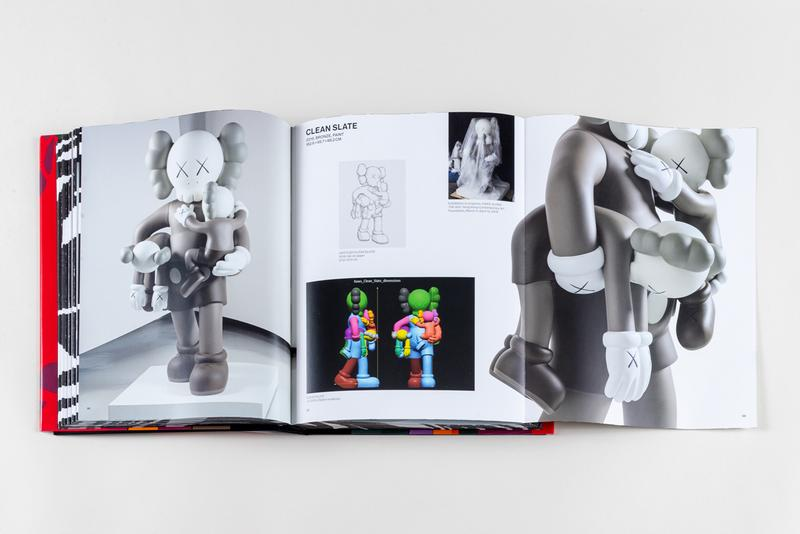 kaws he eats alone clothbound book doha qatar exhibition