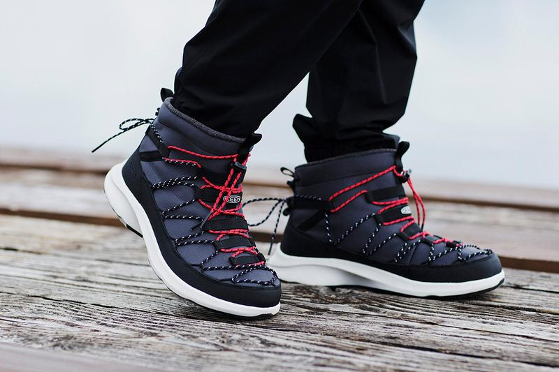 keen uneek SNK CHUKKA WP waterproof sneaker boot release information fall winter 2020 winter boots
