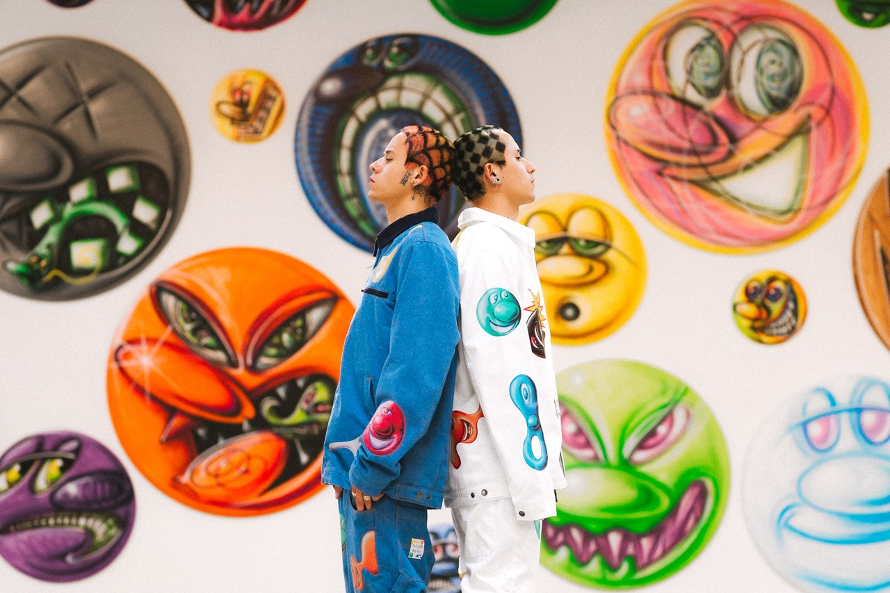 Kenny Scharf x The Hundreds FW20 Collaboration collection fall winter 2020 lookbook editorial