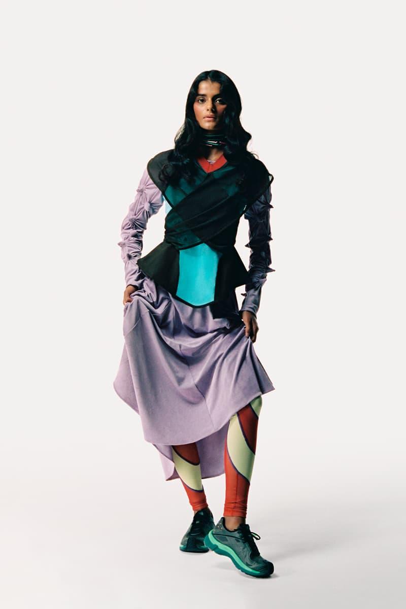 Kiko Kostadinov x ASICS GEL-TESERAKT Womens Sneaker Release Information Drop Date Closer Look Campaign Lookbook Fall Winter 2020 FW20 WMNS Laura Fanning Deanna Fanning
