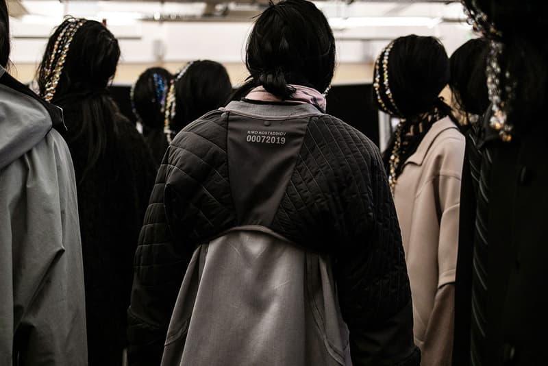 Kiko Kostadinov Hints Potential CP Company Collaboration menswear streetwear partnership fall winter 2020 collection fw20 garments clothes