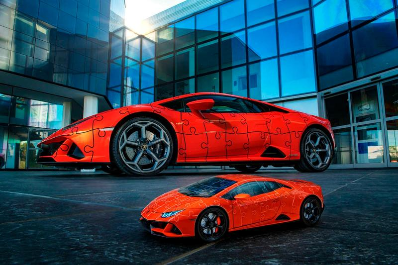 lamborghini huracan evo 1 18th scale 3d puzzle toy replica