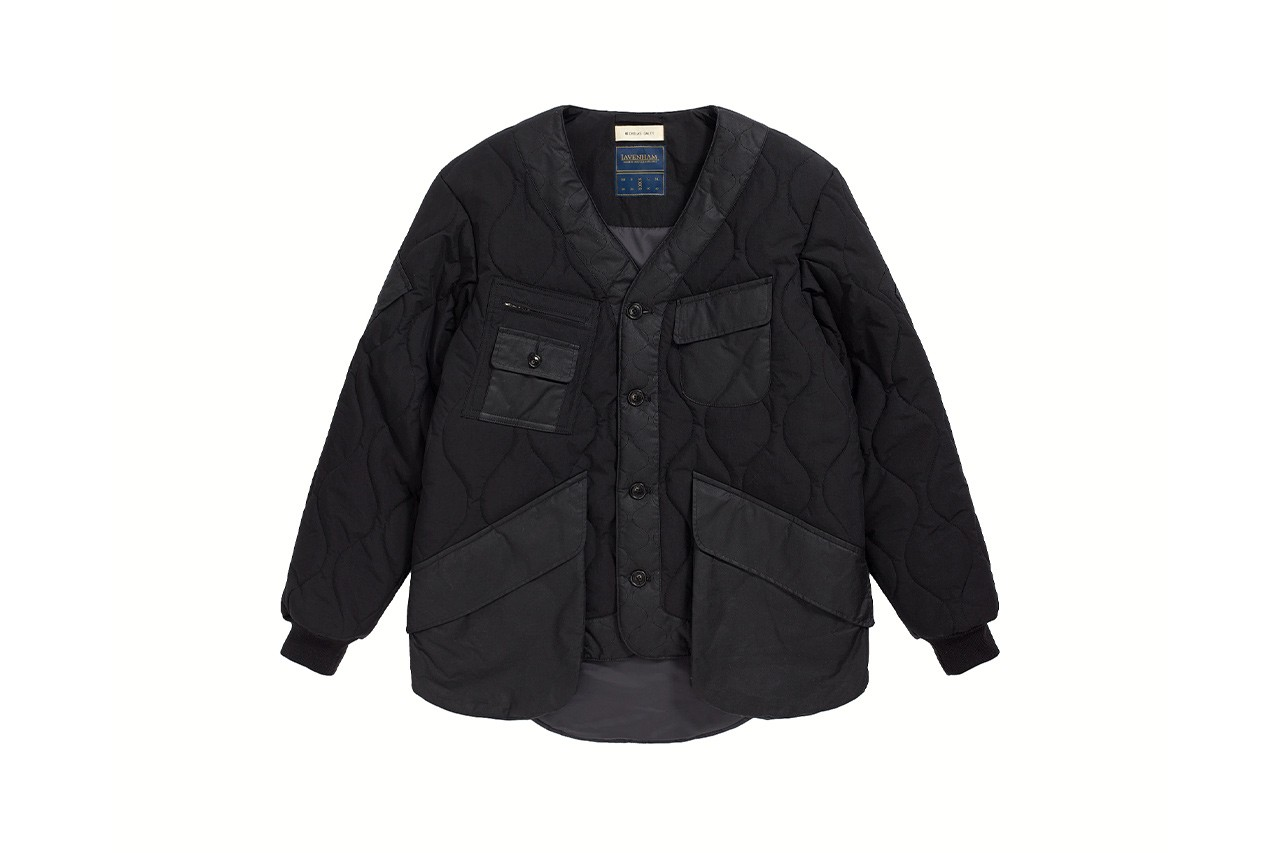 Nicholas Daley Lavenham fall winter 2020 release information quilted jackets design Japanese fabrics