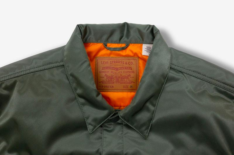 levis porter Type II tracker jacket fall winter 2020 collaboration release information