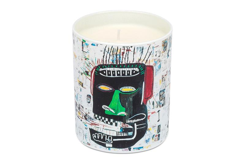 Ligne Blanche Candles Plates porcelain andy warhol jean michel basquiat keith haring modern art contemporary art pop