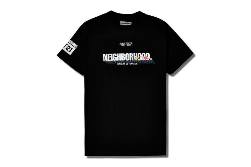 Line Friends BTS BT21 NEIGHBORHOOD SAVANT SAVAGE Collection Release Info Hoodie T shirt Black White Grey