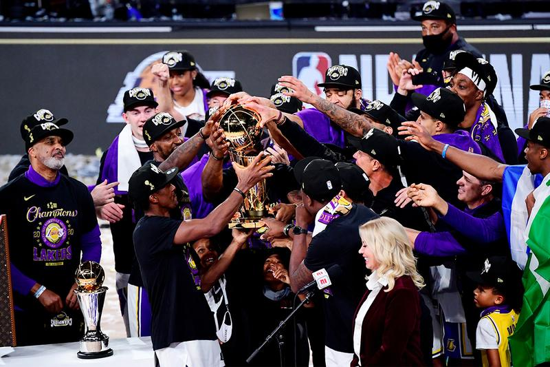 Los Angeles Lakers 2020 NBA Finals Champions miami heat lebron james jimmy butler kobe bryant danny green kyle kuzma mamba forever
