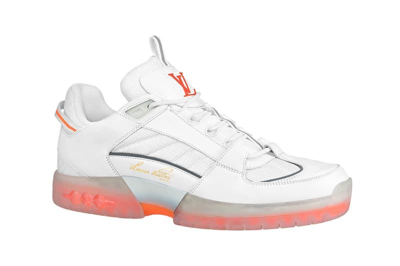 Lucien Clarke Louis Vuitton skate shoe virgil Abloh release information when do they drop where to cop