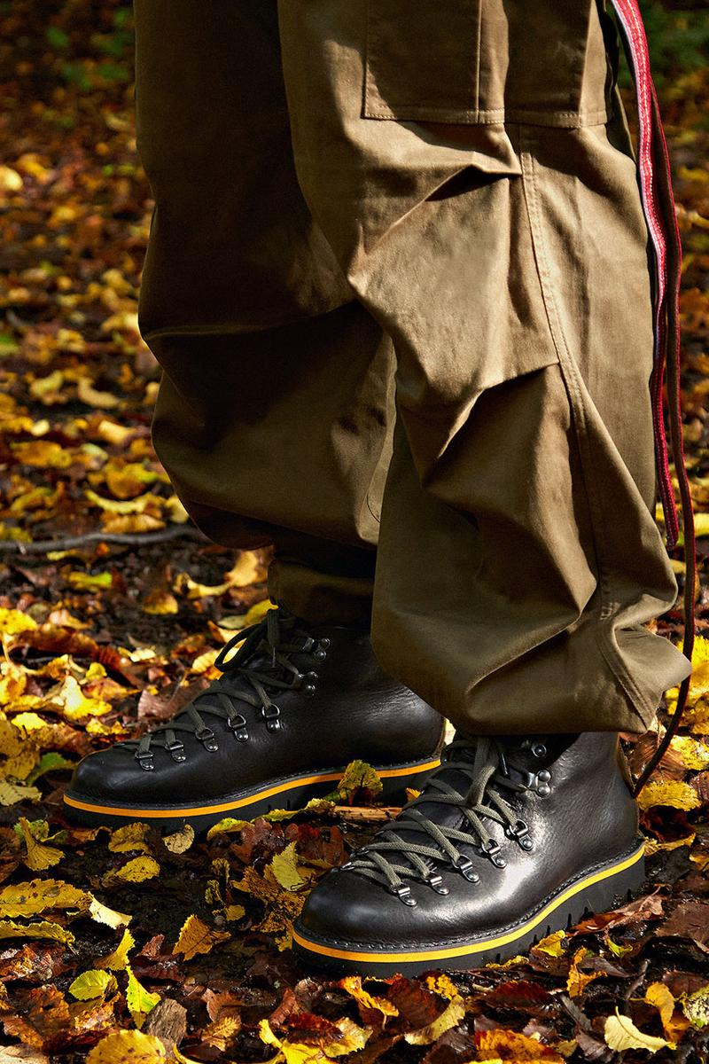 maharishi hiking boot m120 fracas fw20 release information outdoor boots Vibram sole