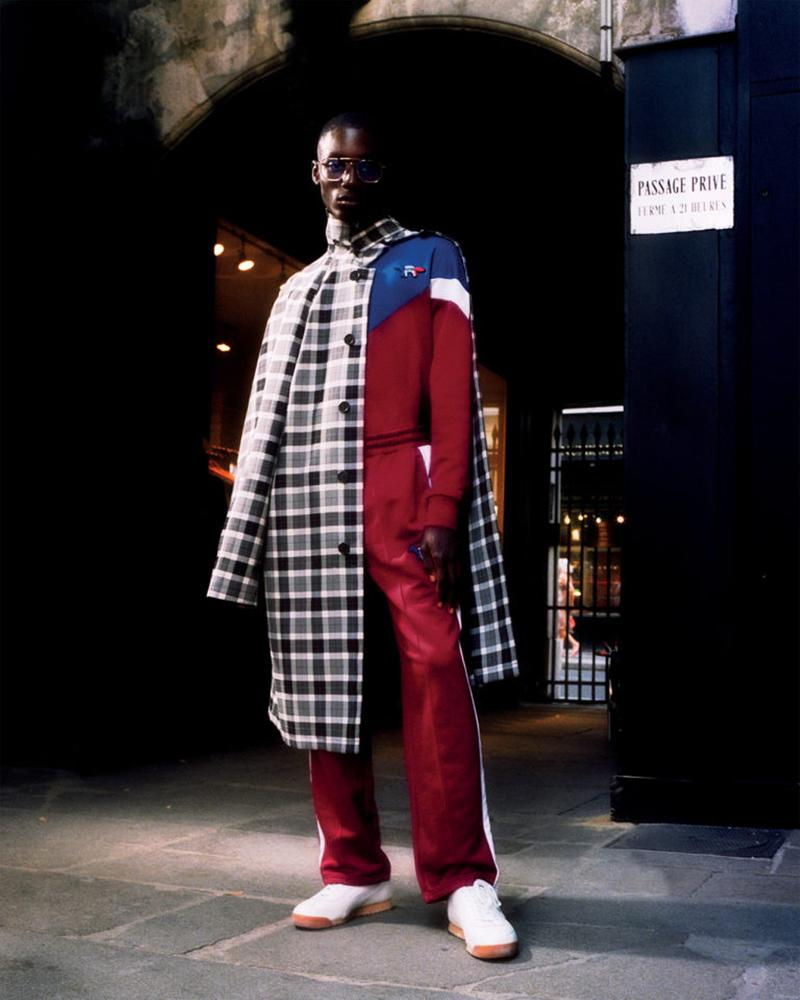 Maison Kitsuné Spring/Summer 2021 Collection lookbook ss21 marcus claytown menswear womenswear