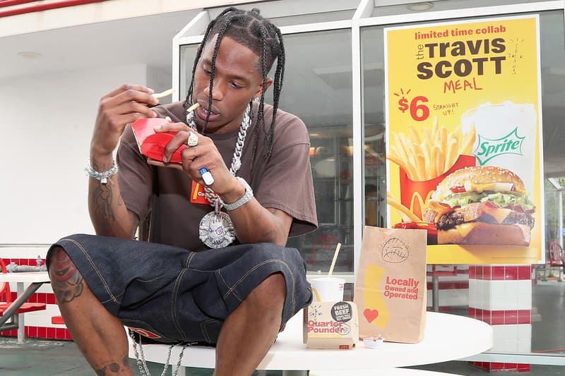 McDonald's racial discrimination lawsuits Travis Scott j balvin Collab Response cactus jack