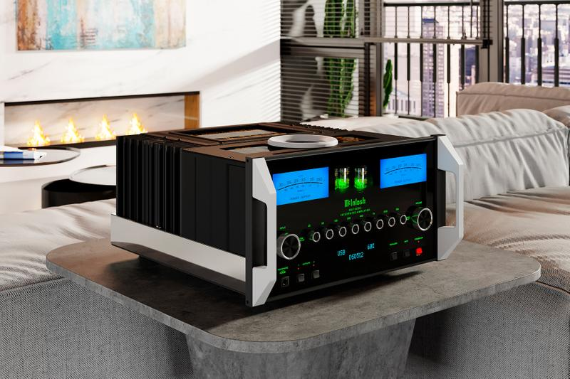 mcintosh labs MA12000 Hybrid Integrated Amplifier info hi-fi power amps music home audio new york tube amps