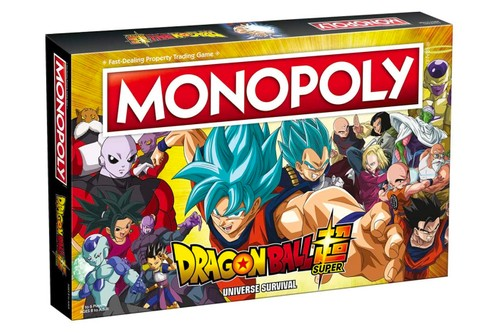Buy, Sell, and Trade Fighters in Monopoly: Dragon Ball Super Universe Survival Edition