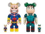 Medicom Toy Channels All Might in New 'My Hero Academia' BE@RBRICK Set