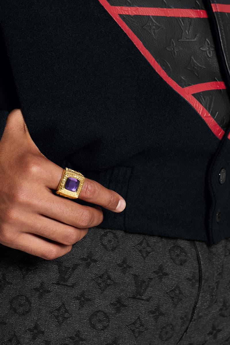NBA Louis Vuitton Capsule Release Info Larry O'Brien Trophy Travel Case Virgil Abloh Buy Price Date Collection Lookbooks