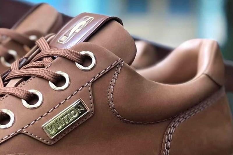 NBA Louis Vuitton Sneaker Better Look Release Info Date Buy Price