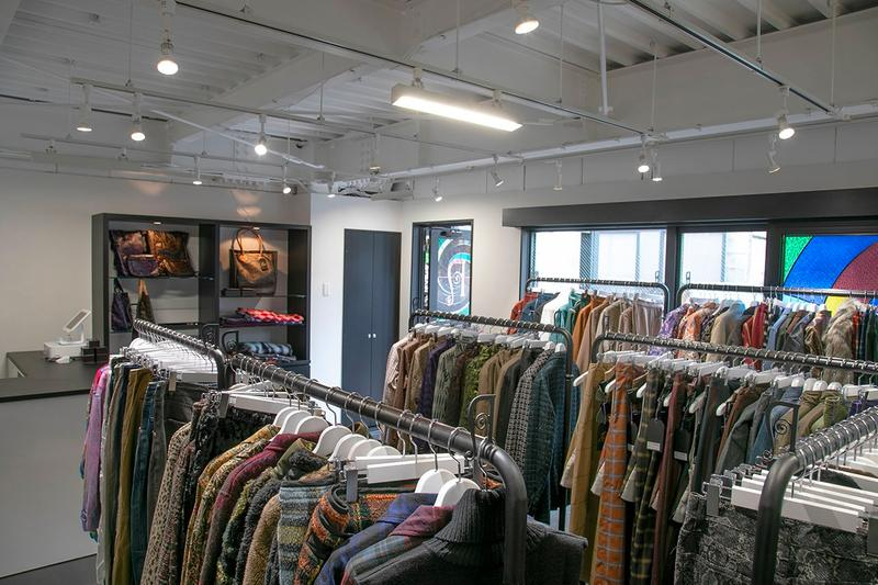 NEPENTHES WOMAN TOKYO store opening Murata Building Jingumae Shibuya Japan japanese needles engineered garments south2 west8 brick and mortar