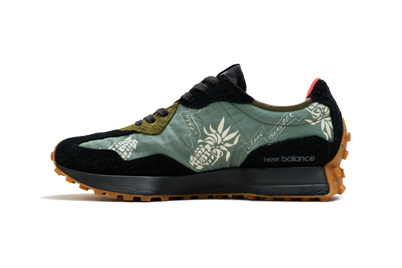 New Balance Urban Islander Collaboration SBTG Limited Edt Singapore Artists NB 327 900 Collection Socks T-Shirts Tote Bag Release Information Shoe Sneaker Footwear Drop Date Closer Look