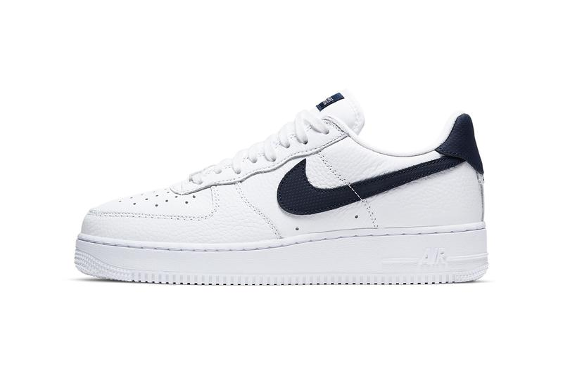 nike sportswear air force 1 low craft white obsidian navy blue CT2317 100 official release date info photos price store list buying guide
