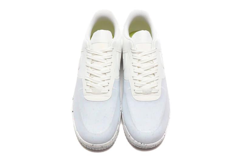 Nike Air Force 1 Crater Foam Summit White menswear streetwear shoes sneakers runners trainers kicks cz1524 100