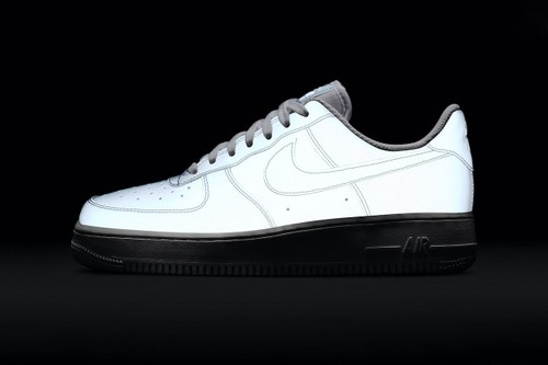 Nike's Air Force 1 Receives Iridescent Reflective Uppers