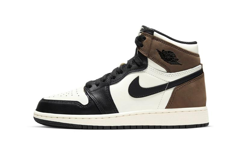 nike air jordan one high black mocha release footwear shoes travis scott