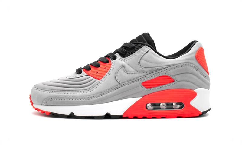 Nike Air Max 90 Gray Pink CZ7656 001 menswear streetwear fall winter 2020 collection shoes sneakers trainers runners kicks footwear fw20