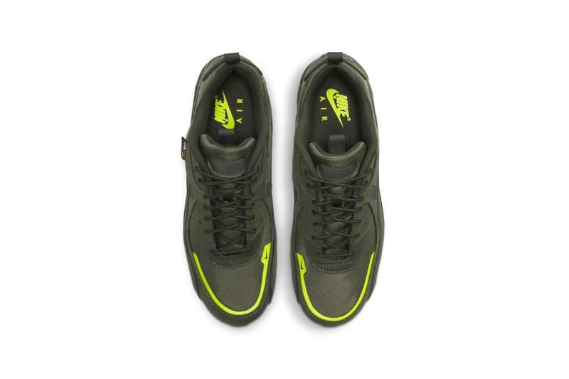 "Nike Air Max 90 ""Surplus Pack"" Release Information Closer Look Drop Date Footwear Shoes Sneakers Swoosh AM90 Desert Cargo Khaki Black Tech Tuff Cordura"