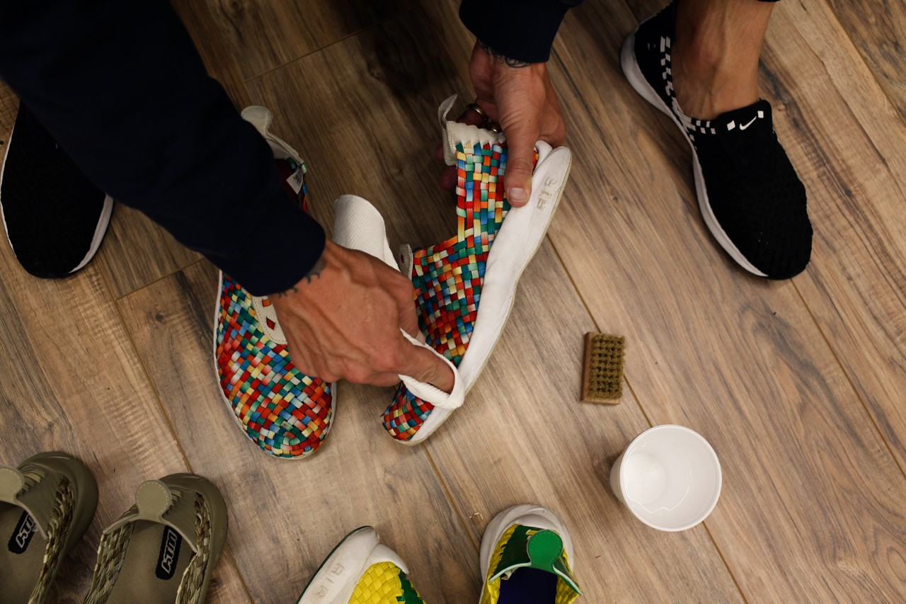 sole mates jimmy gorecki nike air woven htm ice cream skate team pharrell standard issue tees jsp interview conversation official release date info photos price store list buying guide