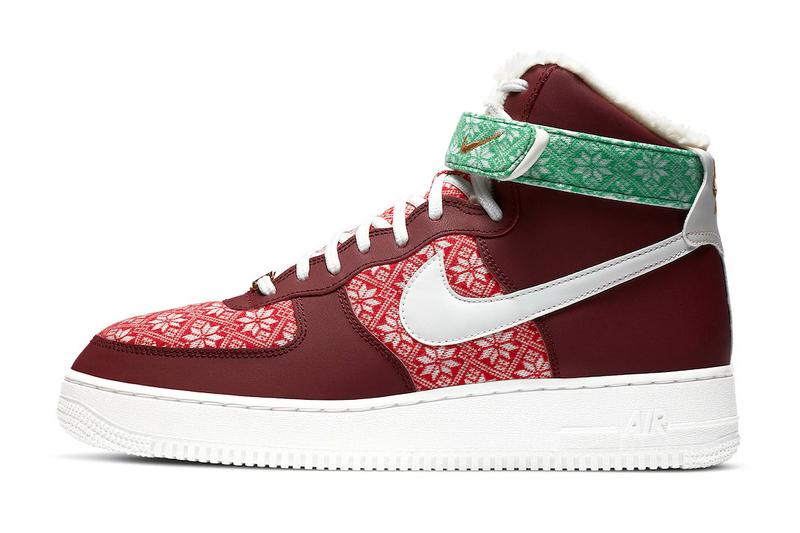 2020 Nike Christmas Shoes Nike Air Force 1 Hi, Blazer Mid & AM90 Christmas Pack | HYPEBEAST