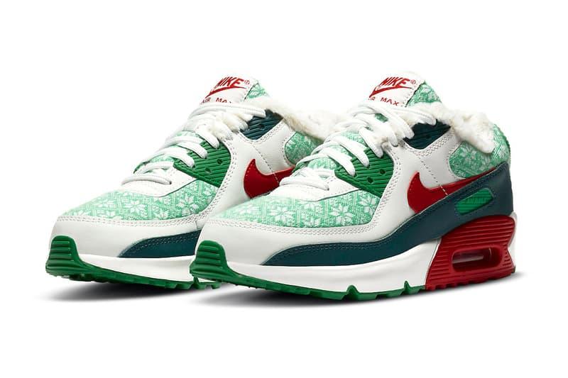 2020 Christmas Nike Nike Air Force 1 Hi, Blazer Mid & AM90 Christmas Pack   HYPEBEAST