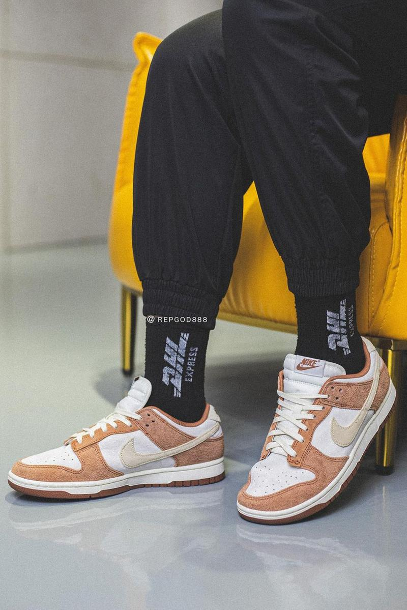 nike sportswear dunk low premium medium curry white brown official release date info photos price store list buying guide