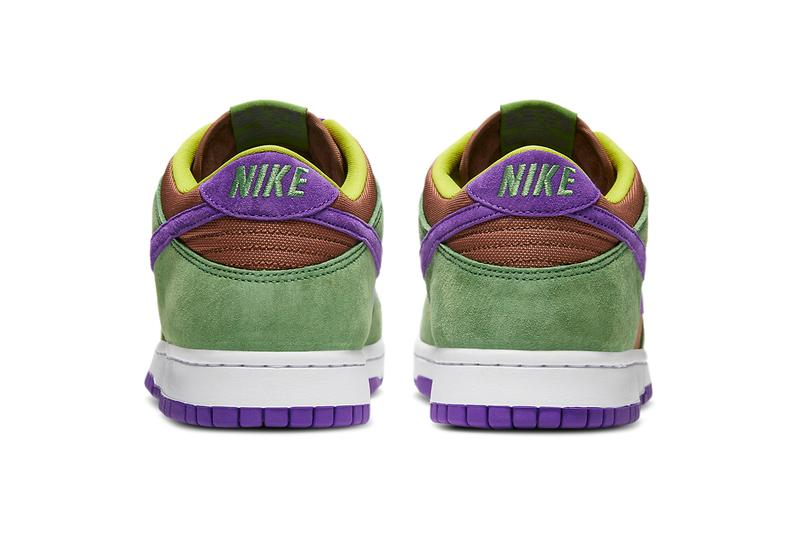 nike sportswear co jp dunk low veneer ugly duckling autumn green deep purple brown DA1469 200 official release date info photos price store list buying guide