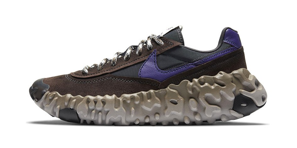 "Nike's OverBreak SP ""Baroque Brown/New Orchid/Black"" Is Retro-Future Fusion at Its Best"