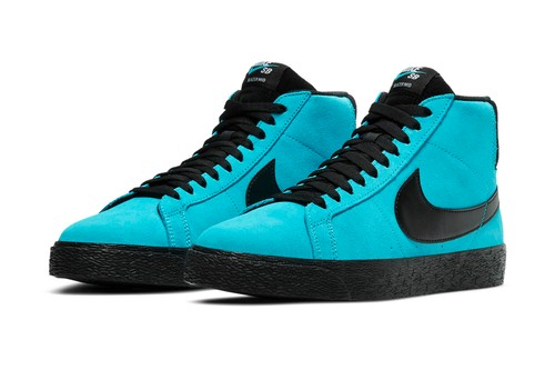 Nike SB Dips the Zoom Blazer Mid, Blazer Low GT and Zoom Stefan Janoski in Highlighter Hues