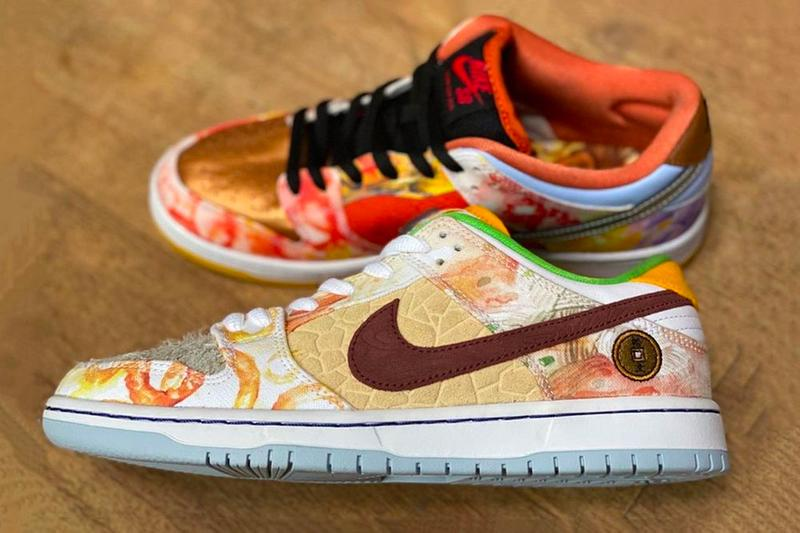 Nike SB Dunk Low Chinese New Year First Look cv1628-800 What Release Info Date Buy Price Metallic Copper Light Silver Pueblo Brown Metallic Silver