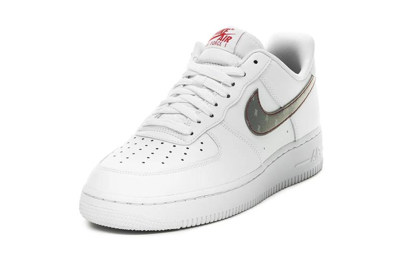 3M Nike Air Force 1 White Silver Anthracite University Red menswear streetwear fall winter 2020 collection fw20 sneakers shoes footwear trainers runners